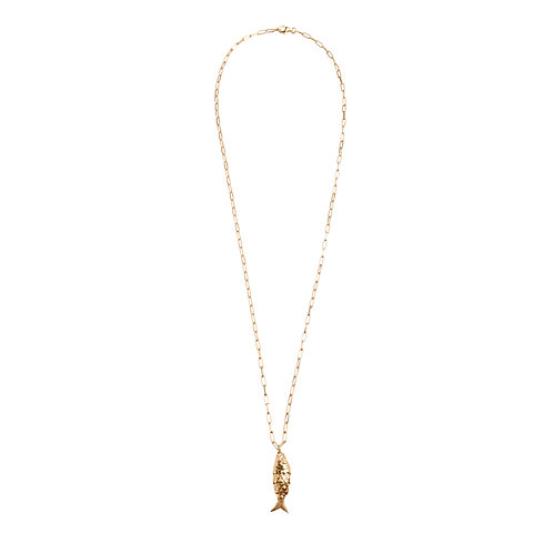 Koi Necklace gold