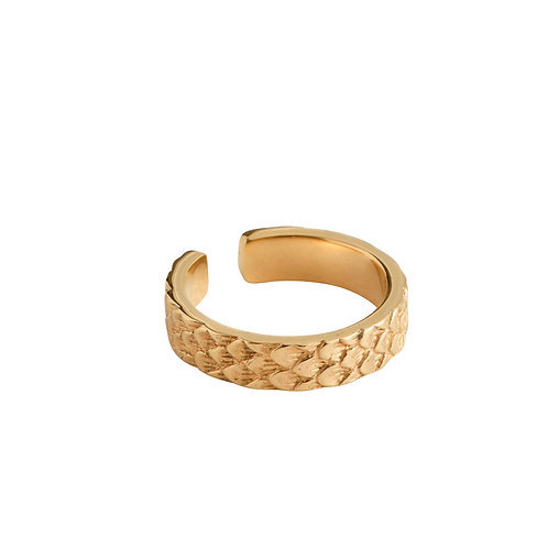 Koi Ring skinny gold