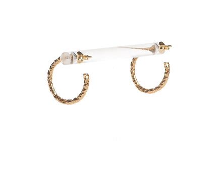 Volcano Earrings gold