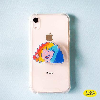 GIRL PHONE-GRIP