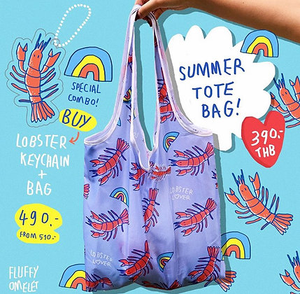 LOBSTER TOTEBAG