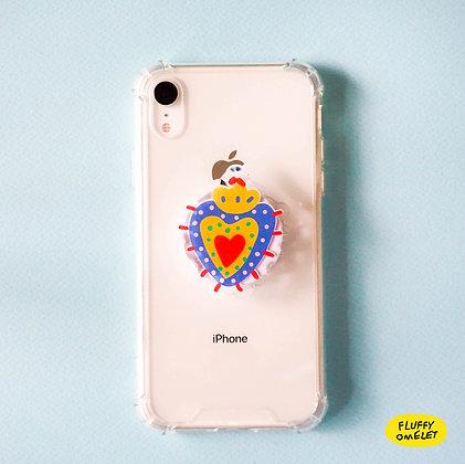 MEXY HEART PHONE-GRIP
