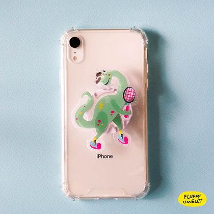 GREEN DINO PHONE-GRIP