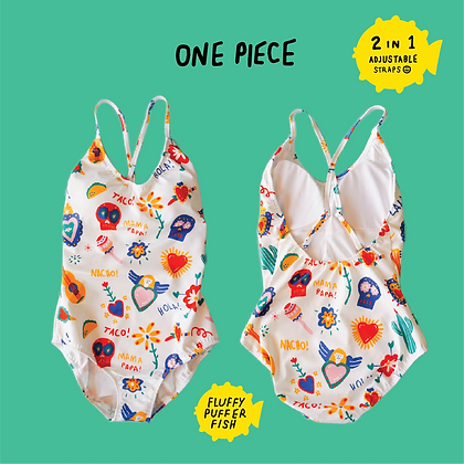 MEXY ONE PIECE SWIMWEAR
