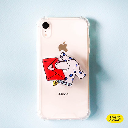 LETTER DOG PHONE-GRIP