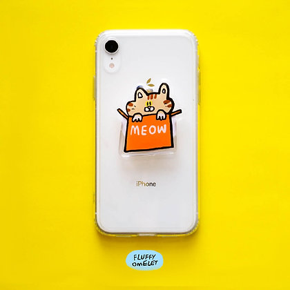 BISCUIT CAT PHONE GRIP