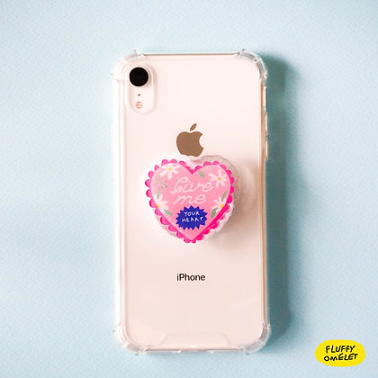GIVE ME YOUR HEART PHONE-GRIP