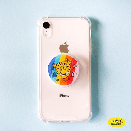 LEOPARD PHONE-GRIP