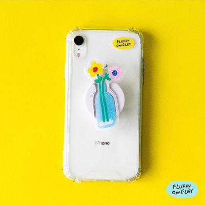 FLOWER VASE PHONE-GRIP