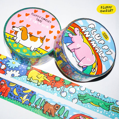 FLUFFY ANIMAL TAPE