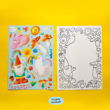 GNOME N FRIENDS CARD