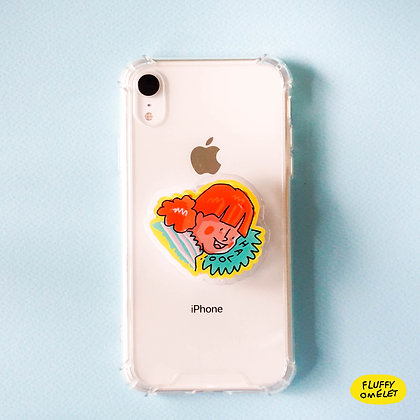 HALOO GIRL PHONE-GRIP