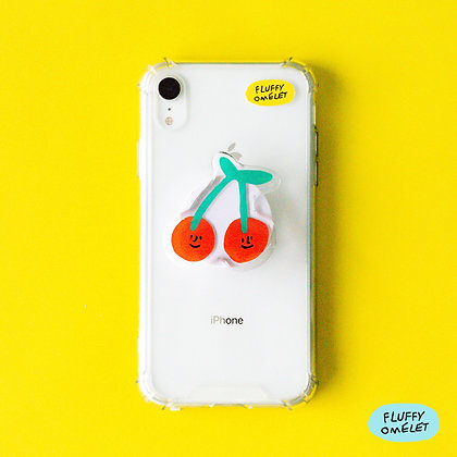 CHERRIES PHONE-GRIP
