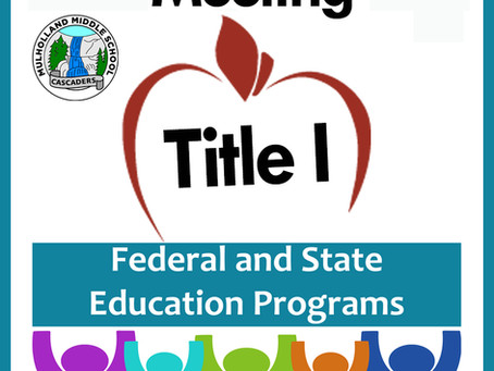 TITLE I MEETING