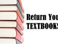 TEXTBOOK & DEVICE RETURN