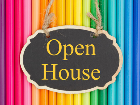 OPEN HOUSE - MAY 27, 2021 @5:30-6:30PM