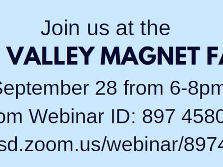 VALLEY MAGNET FAIR - 9/28/21