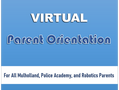 VIRTUAL PARENT ORIENTATION   ALL SCHOOLS   8/12/2021
