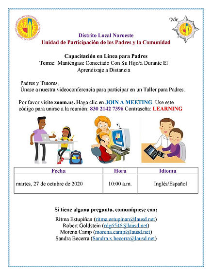 Stay Connected Flyer SPANISH 10_27_20.jp