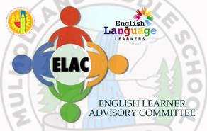 ELAC MEETING 4.7.2021