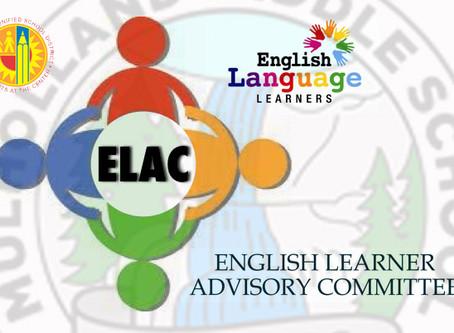 ELAC MEETING - 10/7/2020