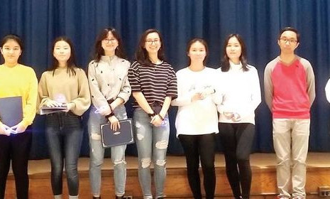 제1회 뉴욕시 고교 말하기대회 (NYC Korean Speech Contest at East-West School of International Studies)