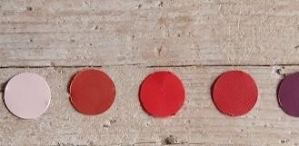 Tonalità rosa - rosso