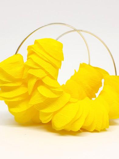 Orecchini Petalo Limone