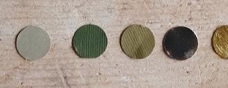 Tonalità verde - metalliche