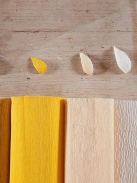 Tonalità bianco - giallo