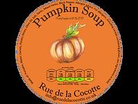Pumpkin soup by Rue de la Cocotte, Wales