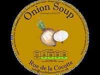 Onion soup by Rue de la Cocotte, Wales