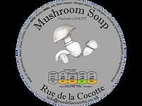 Mushroom soup by Rue de la Cocotte, Wales