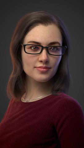Portrait of Viviana