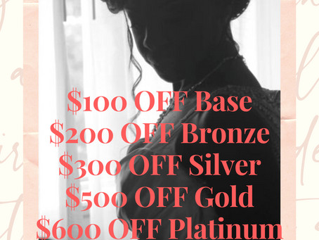 Valentine's Special - Feb2021 Promotions!