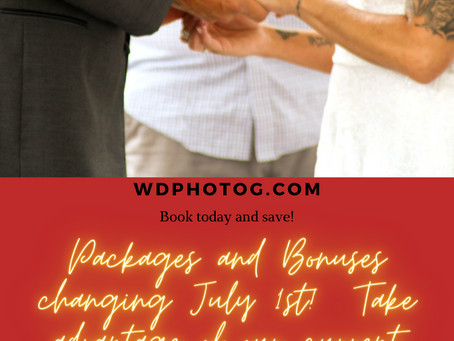 New Packages and June Booking Bonuses