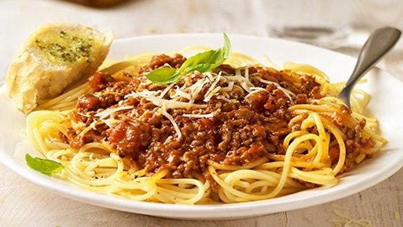 Spaghetti Bolognese for 4
