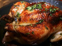 Thursdays Roast Whole Chicken Dinner