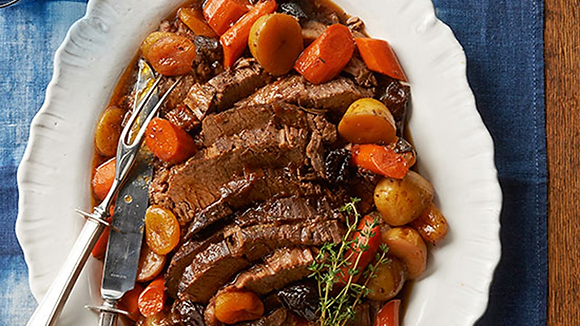 Wine Braised Brisket Dinner