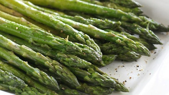Sauteed Asparagus in Shallot Butter for Two or Four