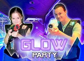 Q-Zar Glow Party