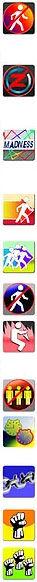 Q-Zar Toledo Helos Pro Game Formats elimination icons