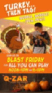 Q-Zar Thansgiving Special