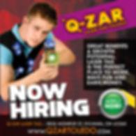 Q-Zar Toledo Laser Tag Now Hiring