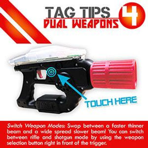 Tag Tips Dual Weapons
