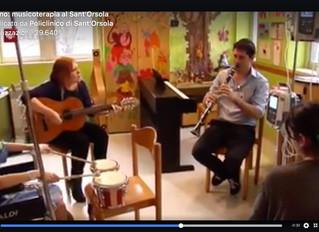 Musicoterapia con i bambini in Ospedale: Tg2-Storie racconta il lavoro dei professionisti di MusicSp
