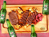 face combo churrasco e heineken delivery