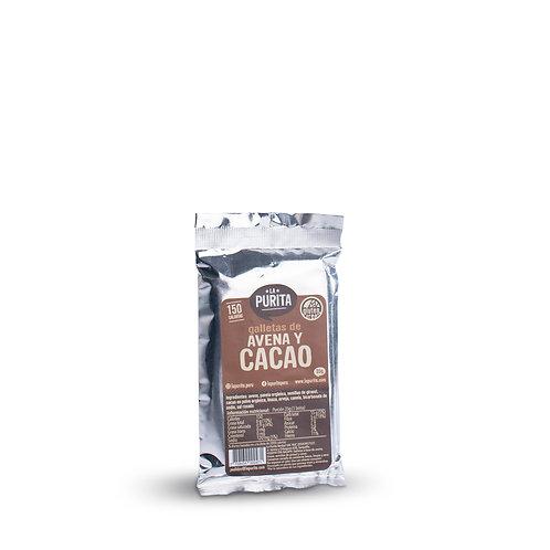 Galletas de avena y cacao 35g x 6