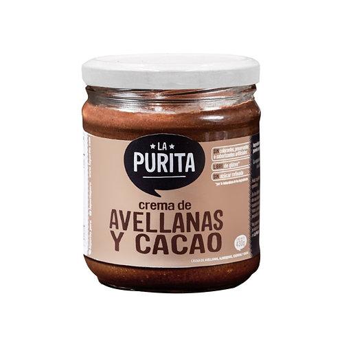 Crema de avellanas y cacao 410g