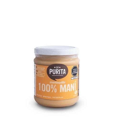 Mantequilla 100% Mani 410g
